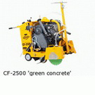 CF - 2500 green concrete